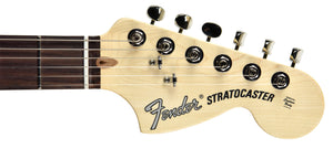 Fender American Performer Stratocaster in Honey Burst US19034466 | The Music Gallery | Headstock Front
