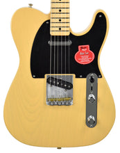 Fender Classic Player Baja Telecaster in Blonde MX19000785 - The Music Gallery