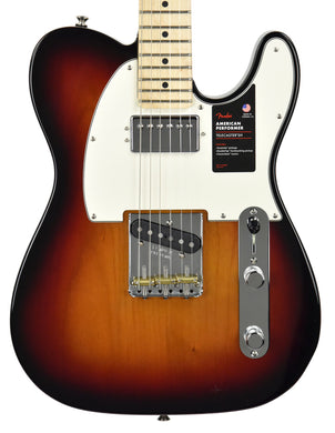 Fender American Performer Telecaster Hum | Music Gallery Front Close