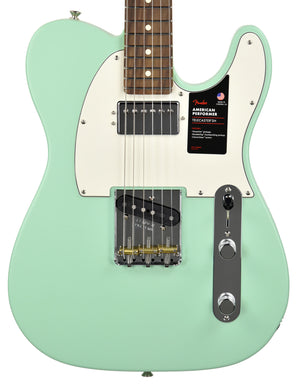 Fender American Performer Telecaster Humbucker in Satin Seafoam Green