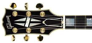USED Gibson Custom Shop ES-335 MONO Limited Edition in Black B98050 | The Music Gallery | Headstock Front