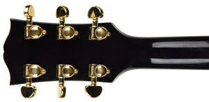 USED Gibson Custom Shop ES-335 MONO Limited Edition in Black B98050 | The Music Gallery | Headstock Back