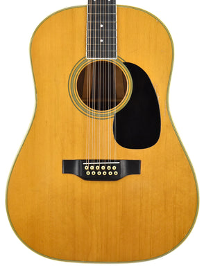 USED 1968 Martin D-12-35 12-String Acoustic Guitar w/OHSC 232134 | The Music Gallery | Front Close