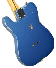Used Fender Custom Shop 50s Tele Relic 1 Piece Ash in Lake Placid Blue R96386 - The Music Gallery