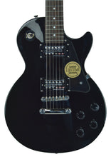 Epiphone Les Paul in Black - Front - THE MUSIC GALLERY
