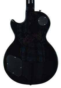 Epiphone Les Paul in Black - Back - THE MUSIC GALLERY