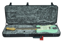 Fender® Parallel Universe Jazz Tele in Surf Green | Case Open