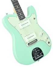 Fender® Parallel Universe Jazz Tele in Surf Green | Front Left