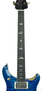 PRS McCarty 594 Wood Library in Aqua Marine - Neck Front