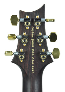 PRS McCarty 594 Wood Library in Aqua Marine - Headstock Back
