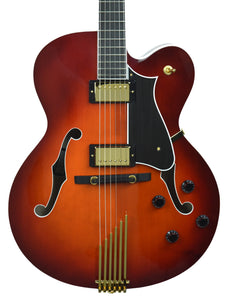 Heritage Eagle Classic in Chestnut Sunburst - Front