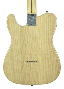 Fender® American Professional Telecaster in Natural | Back Small | the Music Gallery