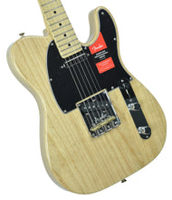 Fender® American Professional Telecaster in Natural | Front Left | The Music Gallery