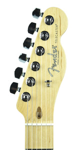 Fender® American Professional Telecaster in Natural | Headstock Front | The Music Gallery