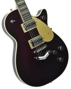 Gretsch G6228 Players Edition Jet BT w/ V-Stoptail in Dark Cherry Metallic | Front Left