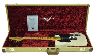 Fender Custom Shop 50s Telecaster Relic in Antique Blonde | Case
