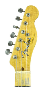 Fender® Custom Shop 50s Telecaster Relic in Antique Blonde | Headstock Front