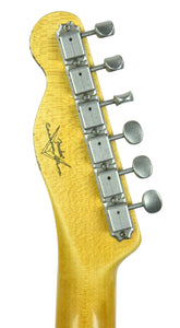 Fender Custom Shop 50s Telecaster Relic in Antique Blonde | Headstock Back