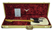 Fender Custom Shop 1 Piece Ash 50s Telecaster Relic in Vintage Blonde | Case Open