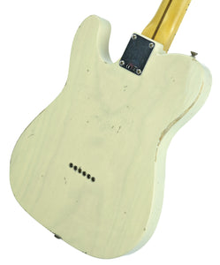 Fender Custom Shop 1 Piece Ash 50s Telecaster Relic in Vintage Blonde | Back Right