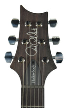 PRS Hollowbody II in Transparent Charcoal w/ Purple Binding - Headstock Front
