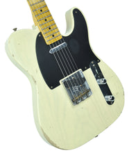 Fender Custom Shop 1 Piece Ash 50s Telecaster Relic in Vintage Blonde | Front Left