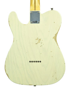Fender Custom Shop 1 Piece Ash 50s Telecaster Relic in Vintage Blonde | Back Small