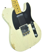 Fender Custom Shop 1 Piece Ash 50s Telecaster Relic in Vintage Blonde | Front Right