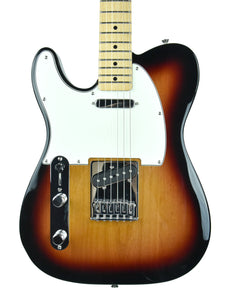 Fender® Left-Hand Standard Telecaster in Brown Sunburst - Front
