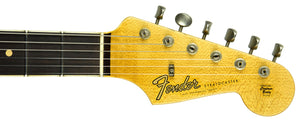 Fender Custom Shop Postmodern Strat Journeyman Relic HSS | The Music Gallery | Headstock Front