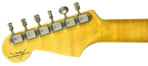 Fender Custom Shop Postmodern Strat Journeyman Relic HSS | The Music Gallery | Headstock Back