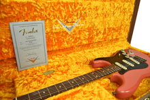 Fender Custom Shop Masterbuilt 62 Stratocaster Relic by John Cruz in Fiesta Red JC3553 | the Music Gallery | Open Case