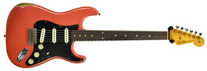 Fender Custom Shop Masterbuilt 62 Stratocaster Relic by John Cruz in Fiesta Red JC3553 | The Music Gallery | Front Far