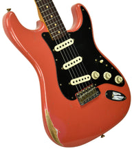 Fender Custom Shop Masterbuilt 62 Stratocaster Relic by John Cruz in Fiesta Red JC3553 | The Music Gallery | Front Angle 1