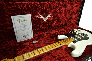 Fender Custom Shop Ancho Poblano Stratocaster | The Music Gallery | Open Case