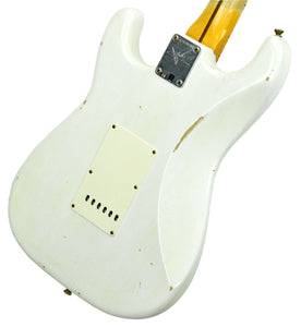 Fender Custom Shop Ancho Poblano Stratocaster in White Blonde CZ539784 - The Music Gallery