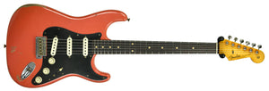 Fender Custom Shop Masterbuilt 62 Stratocaster Relic by John Cruz in Fiesta Red JC3554 | The Music Gallery | Front Far