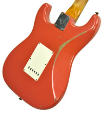 Fender Custom Shop Masterbuilt 62 Stratocaster Relic by John Cruz in Fiesta Red JC3554