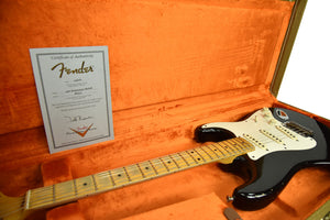Used Fender Custom Shop Masterbuilt 56 Stratocaster Relic Todd Krause in Black R65323