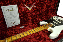 Fender Custom Shop Ancho Poblano Stratocaster in White Blonde CZ538038