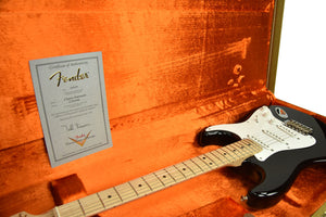Used Fender Custom Shop Masterbuilt Eric Clapton Stratocaster Blackie Todd Krause CZ527660 - The Music Gallery