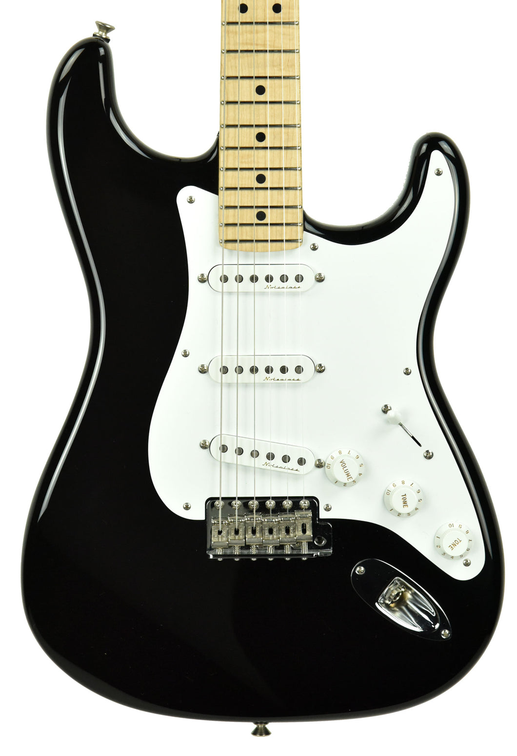 Used Fender Custom Shop Masterbuilt Eric Clapton Stratocaster Blackie Todd Krause CZ527660