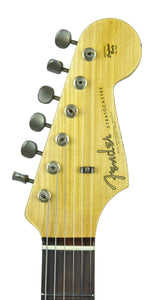 Fender Custom Shop 63 Stratocaster Journeyman Relic in Lake Placid Blue | Headstock Front