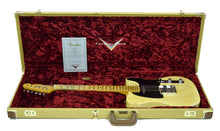 Fender® Custom Shop 1 Piece Ash 50s Telecaster Relic Faded Nocaster Blonde - Case