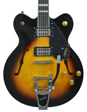 Gretsch G2622T Streamliner Center Block w/ Bigsby in Aged Brooklyn Burst SN IS180300552 - The Music Gallery