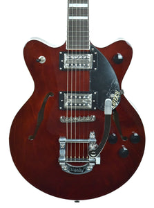 Gretsch G2655T Streamliner Center Block Jr. w/ Bigsby in Walnut Stain IS180300946 - The Music Gallery