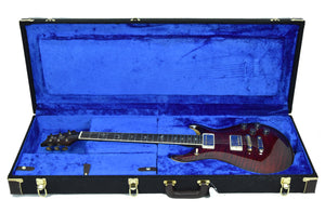 PRS Wood Library McCarty 594 in Fire Red Burst - Case - The Music Gallery
