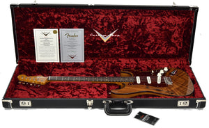 Fender Custom Shop Limited Artisan Koa Thinline Stratocaster CZ541170 - The Music Gallery