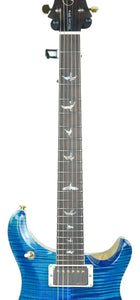 PRS Wood Library McCarty 594 in Aqua Marine - Neck Front