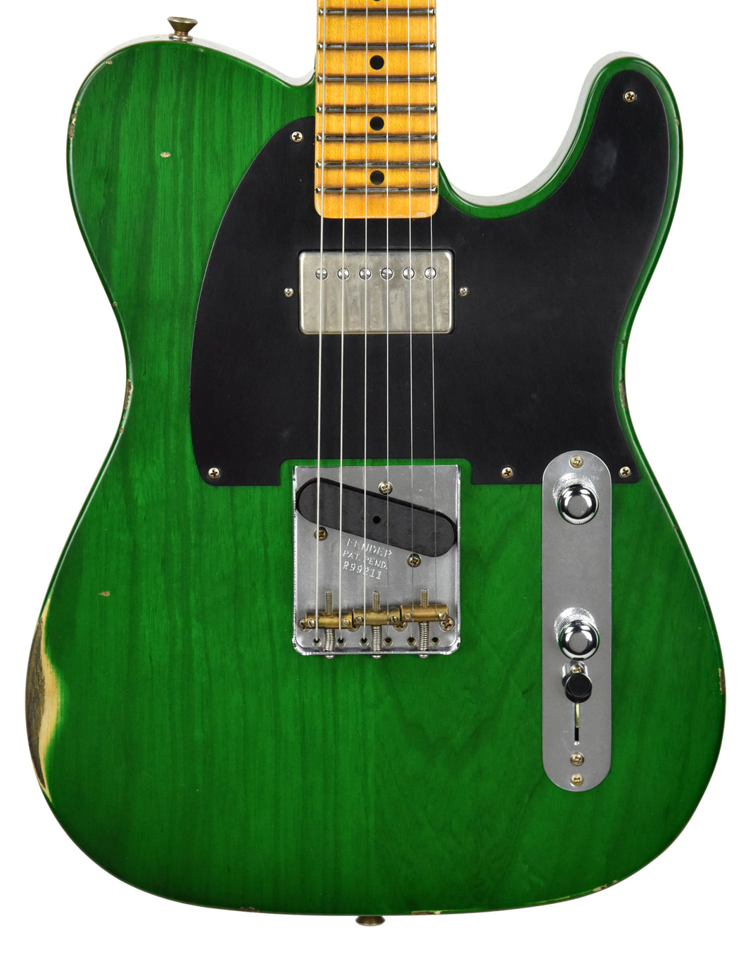 Fender Custom Shop 1952 H/S Telecaster Relic | The Music Gallery | Front Close
